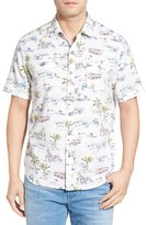 Tommy Bahama Men's 'Retro Bungalow Cruiser' Island Modern Fit Cotton Camp Shirt