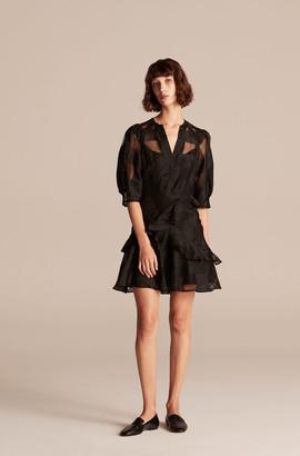 Rebecca Taylor Organza Check Dress