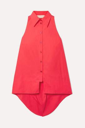 Antonio Berardi Cotton-poplin Shirt - Red