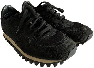 Spalwart Black Suede Trainers