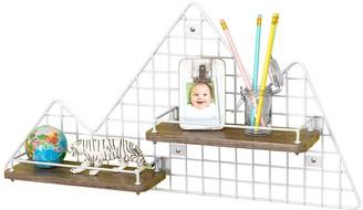 Honey-Can-Do Kids Mountain Wall Shelf