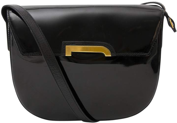 Delvaux Black Patent leather Handbag