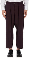 Marni MEN'S WORSTED WOOL RELAXED TROUSERS
