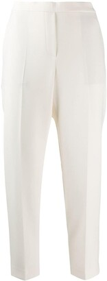 Theory Straight-Leg Cropped Trousers
