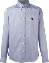 Kenzo Eye denim button down shirt - men - Cotton - 41