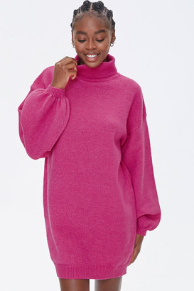 Forever 21 Turtleneck Sweater Dress