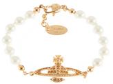 Vivienne Westwood Women's Mini Bas Relief Bracelet Light Colorado Topaz