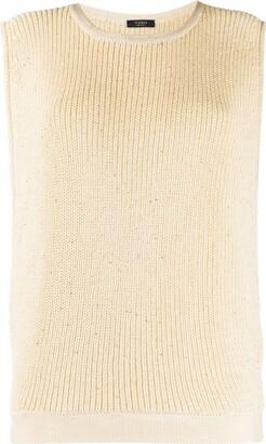 Peserico Embellished Knitted Vest