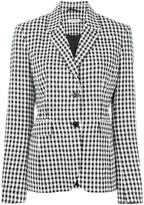 Altuzarra checked blazer - women - Polyester/Spandex/Elastane/Acetate/Viscose - 38