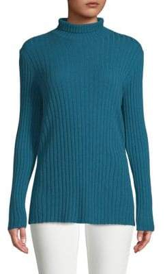 Lafayette 148 New York Ribbed Cashmere Sweater