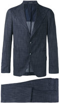 Tagliatore pointed lapels two-piece suit - men - Elastodiene/Cupro/Viscose/Virgin Wool - 52