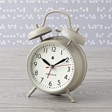 Chime After Chime Grey Alarm Clock