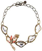Lanvin Crystal Collar Necklace