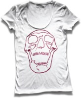 Converse Women's Laughing Skull Scoop Tee
