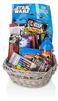 BASSKET.COM STAR WARS Gift Basket/Set For Baby Boy/Toddler (3-10 Years), 11 Piece Bundle Filled Basket Of Baby Boys Gift Items, Perfect Ideas For Birthdays, Easter, Christmas, Get Well, or Other Occasion!