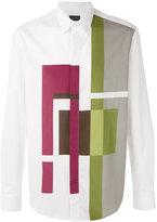 Pal Zileri geometric print shirt - men - Cotton - 38