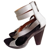 Givenchy Grey Leather Heels