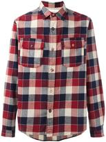 White Mountaineering chest pockets shirt