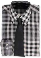 Vittorino Little Boys' Dress Shirt with Tie