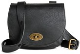 Mossimo Women's Faux Leather Saddle Crossbody Handbag