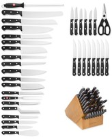 Wusthof Gourmet 36-Piece Knife Block Set