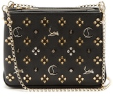 Christian Louboutin Triloubi small leather cross-body bag