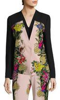 Etro Floral-Print Short Jacket