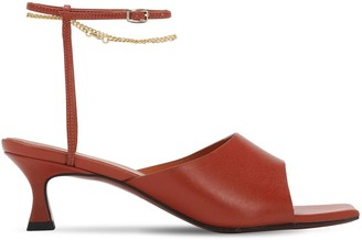 MANU Atelier 50mm Athena Leather Sandals