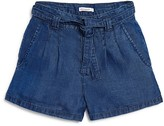 Ella Moss Girls' Chambray Shorts - Sizes 7-14