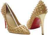 Naly Women's Classic Studded Bridal Pointed Toe Pumps Stiletto Evening Dress High heels 7.5B US