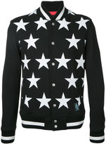 GUILD PRIME stars print bomber jacket