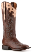 Lucchese Scallop Top Star Cowboy Boot