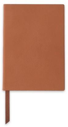 Smythson Soho Pebbled-leather Notebook