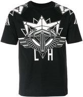 Les Hommes graphic print T-shirt - men - Cotton - S