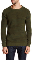 Scotch & Soda Army Green Crew Neck Sweater