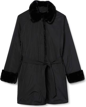 Geox Women's W Kaula Faux Fur Coat