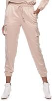 JLO by Jennifer Lopez Women's Satin Jogger Pants