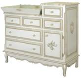 The Well Appointed House French Changer with Changing Tray in Versailles Creme