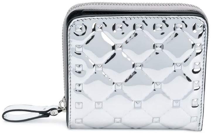 Valentino zip around French wallet