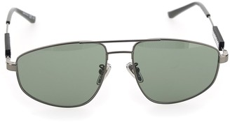 Balenciaga Eyewear Tag Pilot Sunglasses