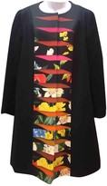 Mary Katrantzou Navy Cotton Coat for Women