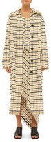 Topshop Women's Gingham Duster Coat