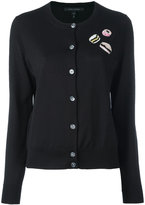 Marc Jacobs sequin patch cardigan - women - Wool - S