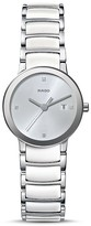Rado Centrix S Quartz Jubile Ceramic & Stainless Steel Watch with Diamonds, 28mm