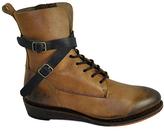 Gee WaWa Tan & Black Casey Leather Boot