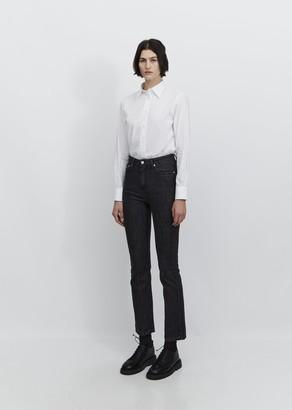 Officine Generale Lilou 5-Pocket Denim Jeans Faded Black