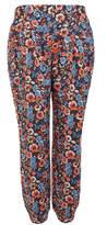 Joie Augen Multicolour Floral Print Silk Trousers
