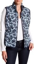 Joe Fresh Print Quilted Vest