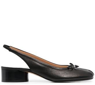 Maison Margiela Tabi slingback ballet shoes