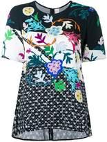 Peter Pilotto floral print top